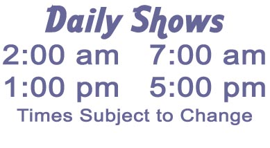 Daily Show Times